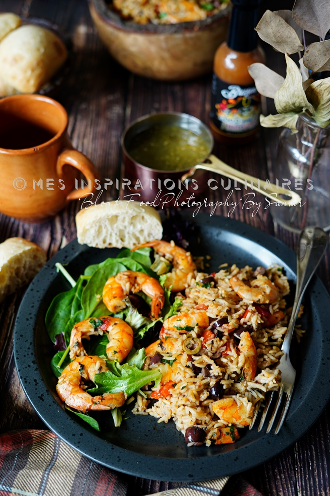 Riz aux crevettes (Locrio de Camarones)