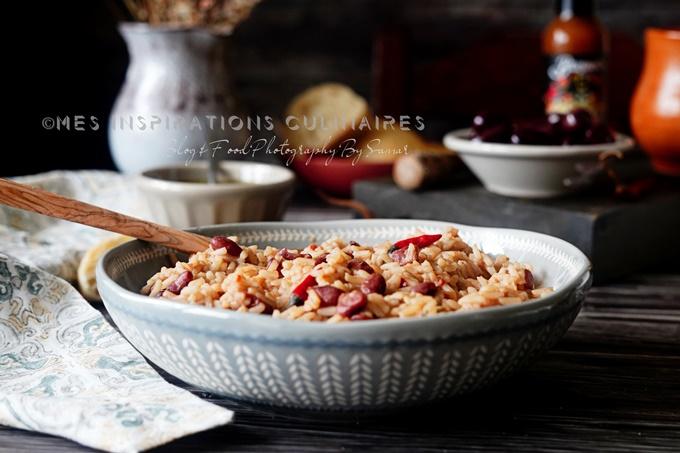 Riz aux haricots rouges (Moro de Habichuelas)