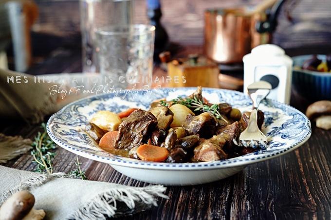 recette Sauté de veau aux olives
