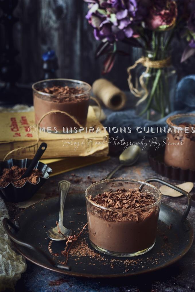 Flan au chocolat italien