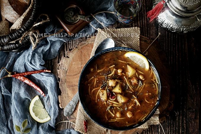 recette soupe chorba mqatfa