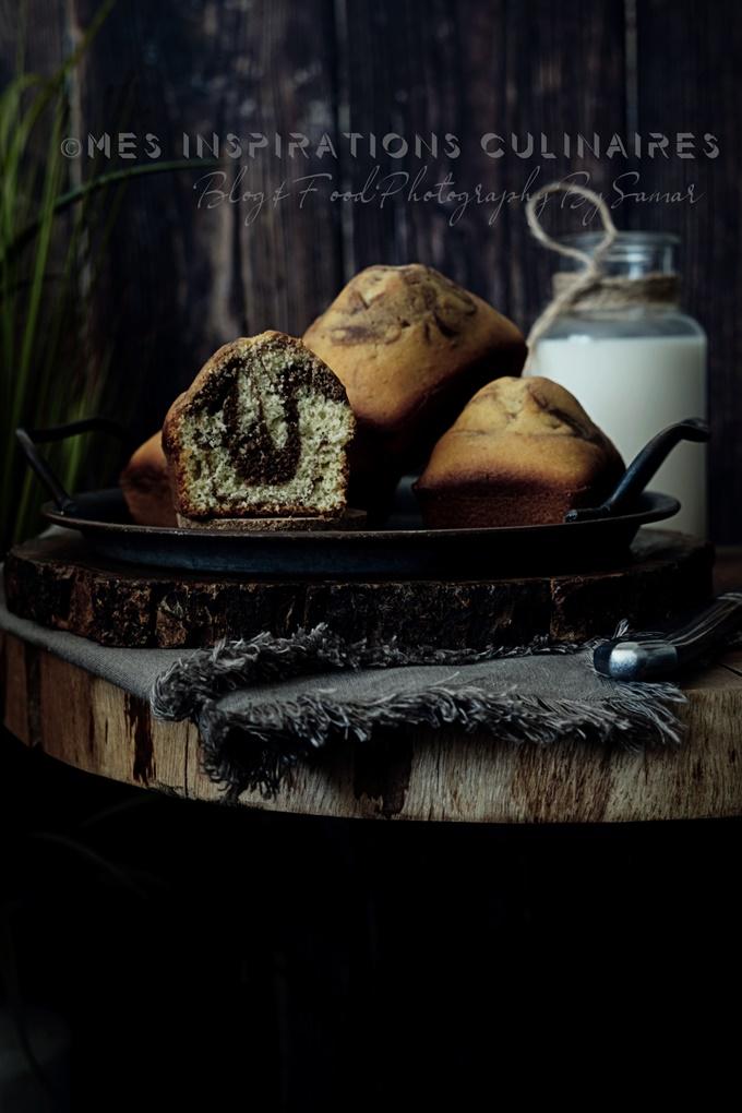 Gateau marbré façon Muffin