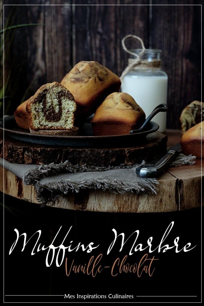 Cake façon Muffins marbré