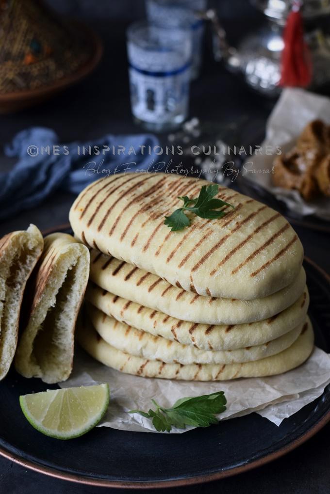 pain à la poêle semoule recette express