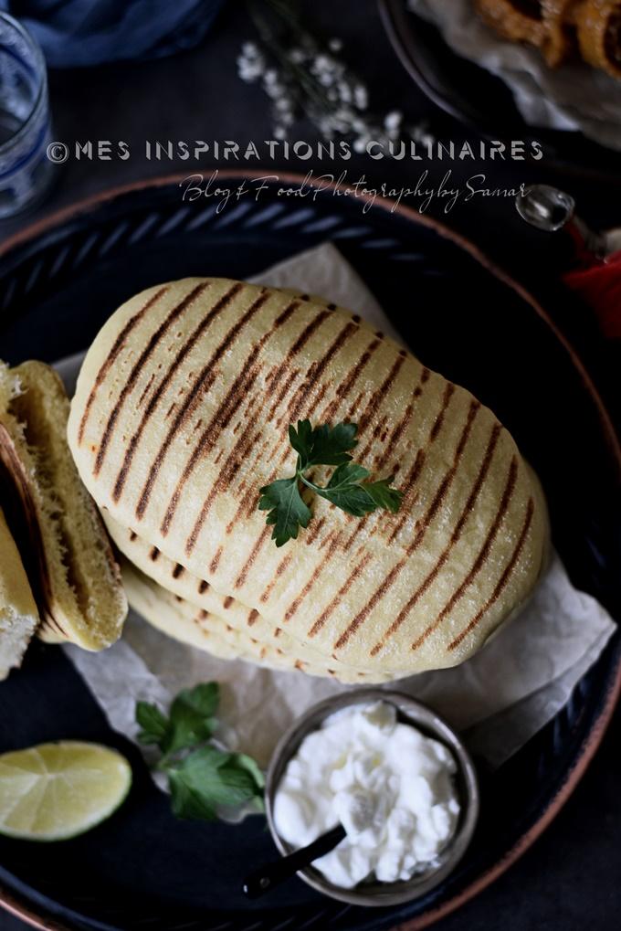 Recette de pain à la poêle semoule pour ramadan