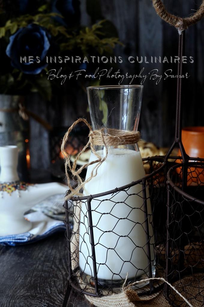 le lait fermenté ou lait caillé maison