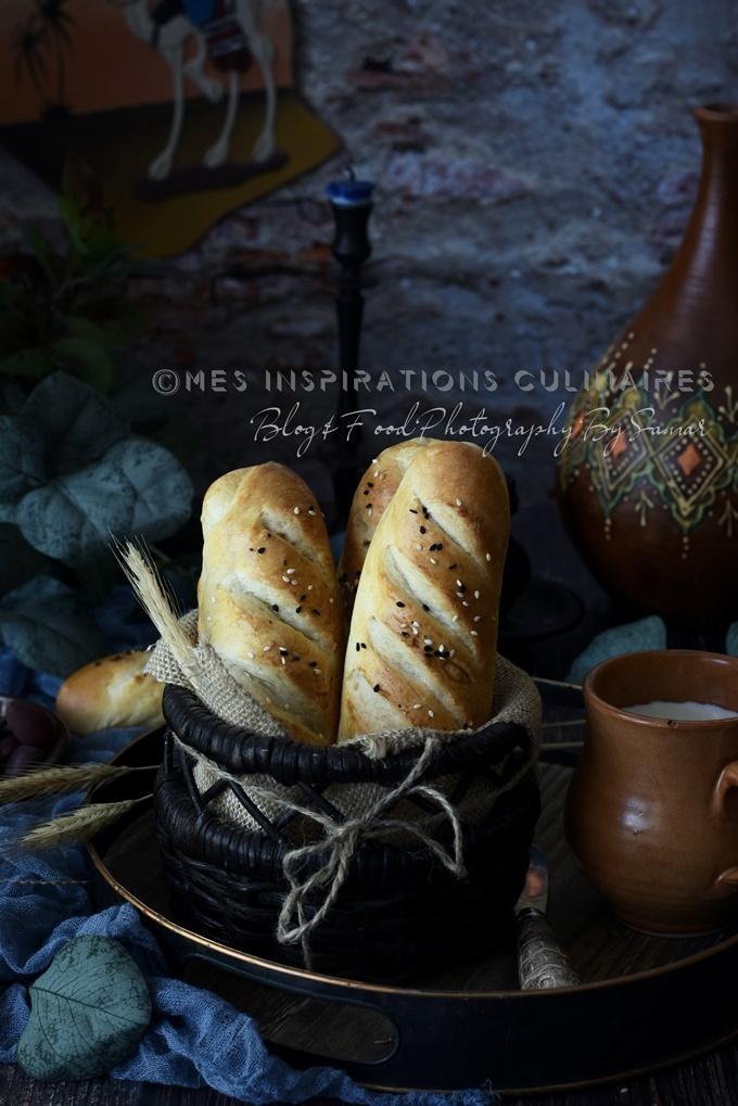 Recette pain algerien brioché