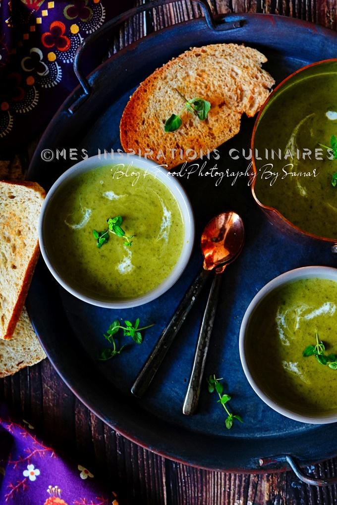 recette de Soupe au chou vert et poireaux