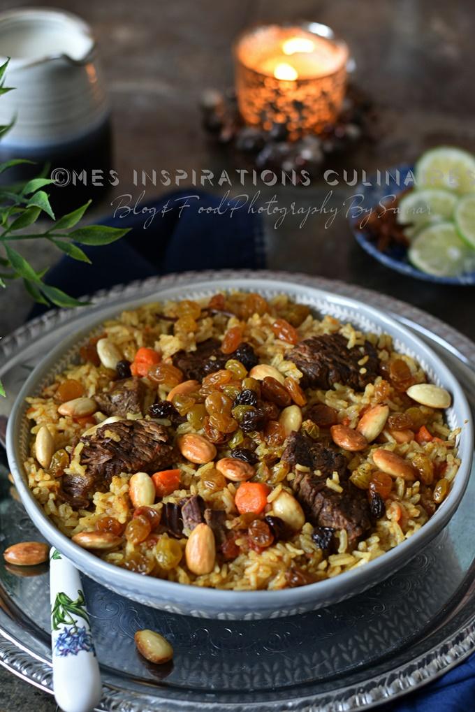recette de riz saoudien