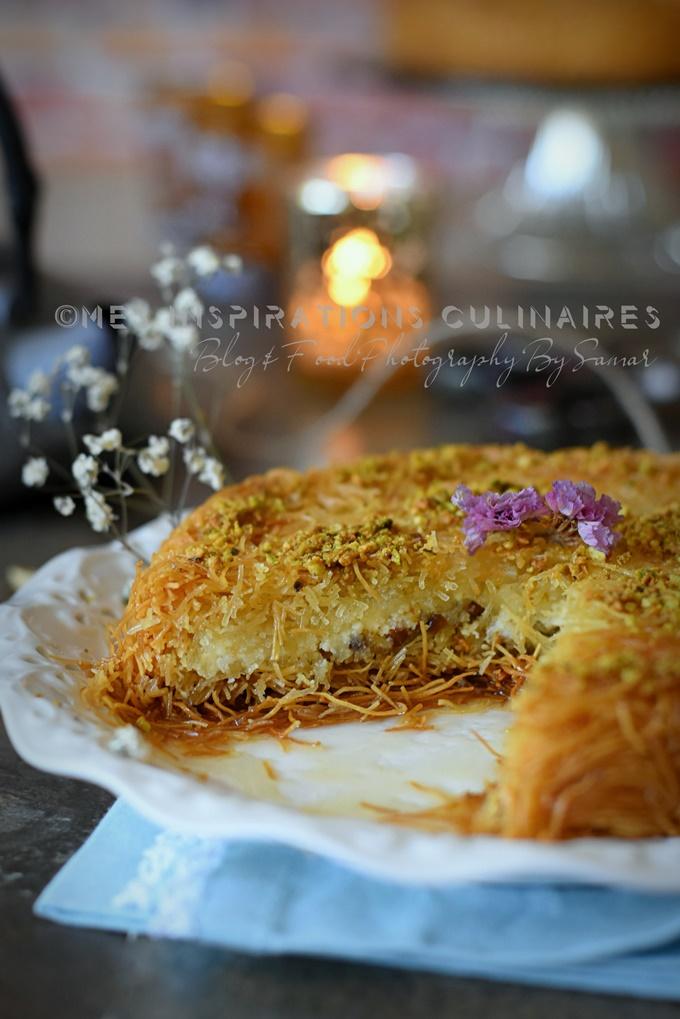 Ktayef à la crème (Konafa turque)