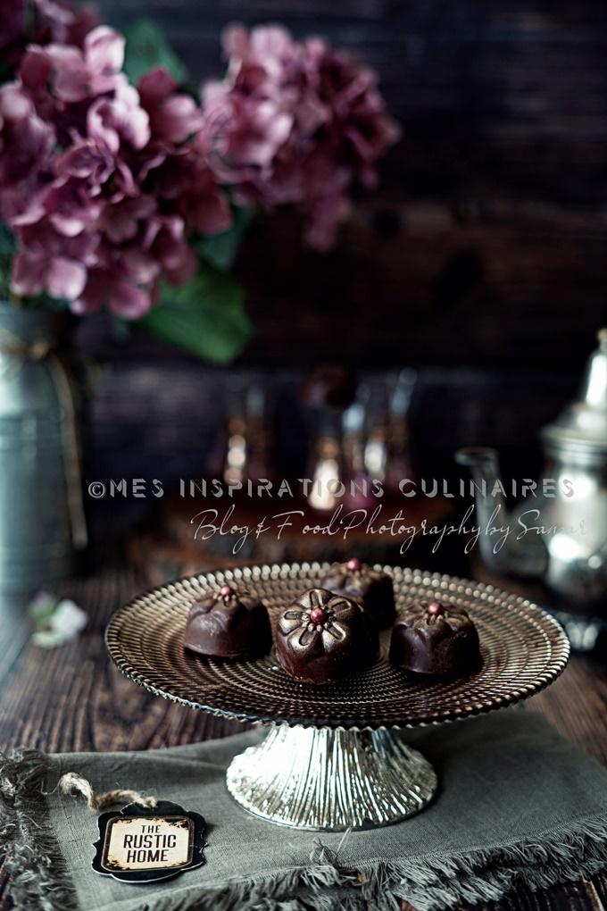 biscuits sans cuisson au chocolat et cacahuetes