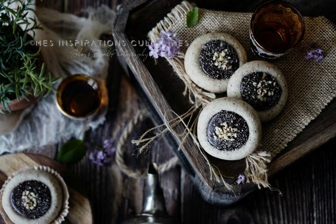 Ghribia à l'huile et noisettes (montecaos)