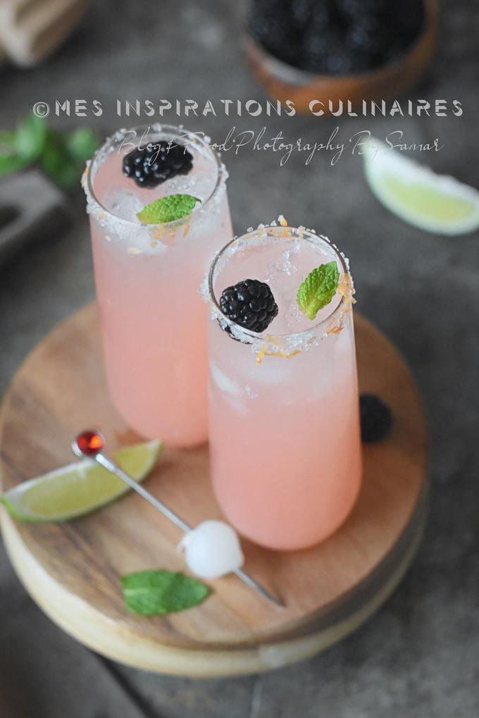 recette cocktail de rhubarbe maison