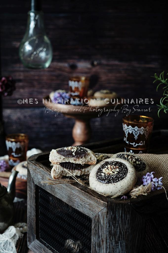 Ghribia à l'huile traditionnelle aux noisettes (montecaos)