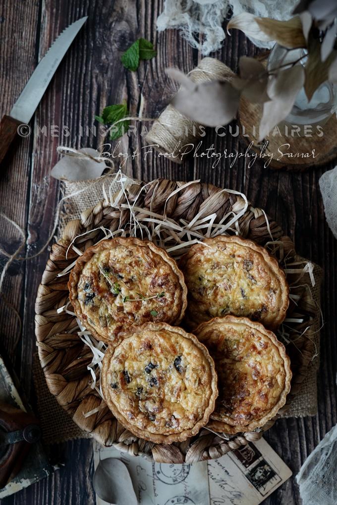recette Tartelettes aux poireaux