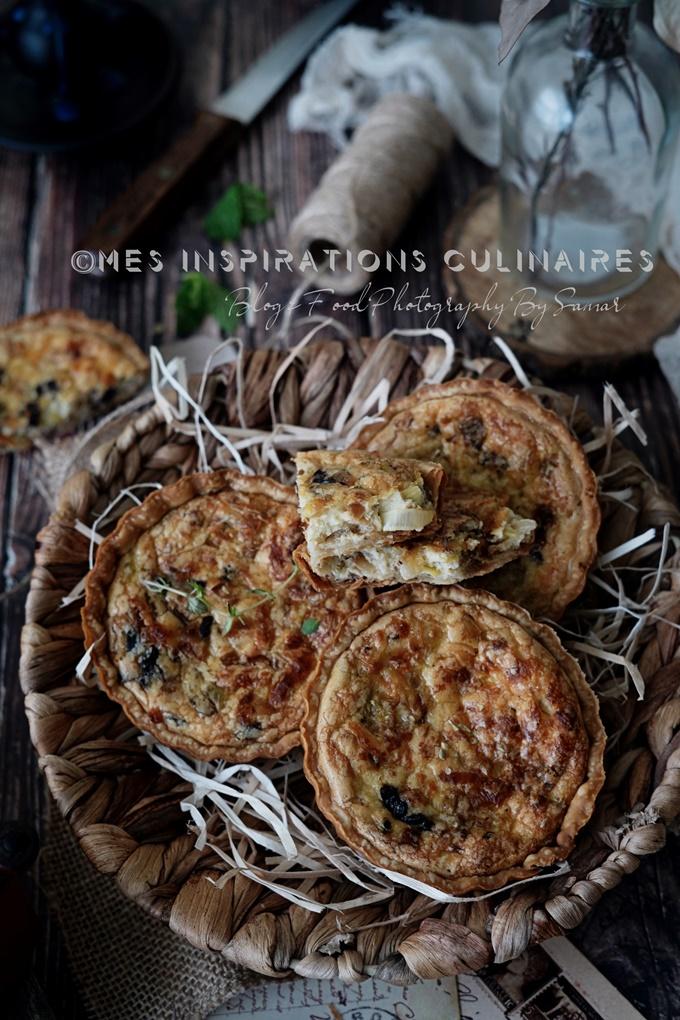 Tartelettes aux poireaux
