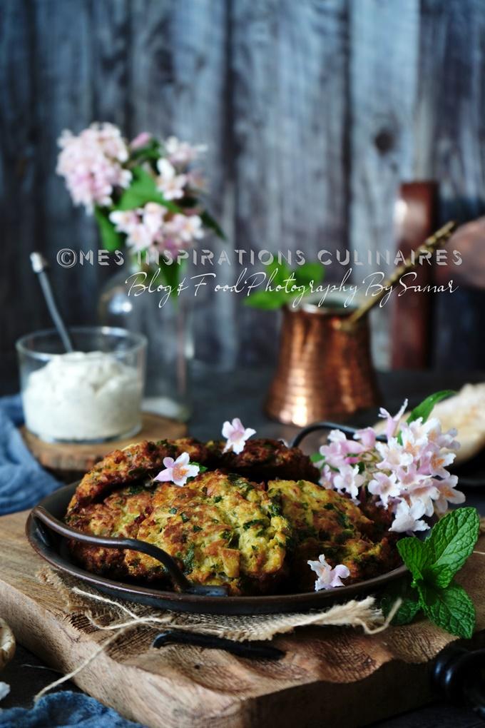 Beignet frits de chou-fleur