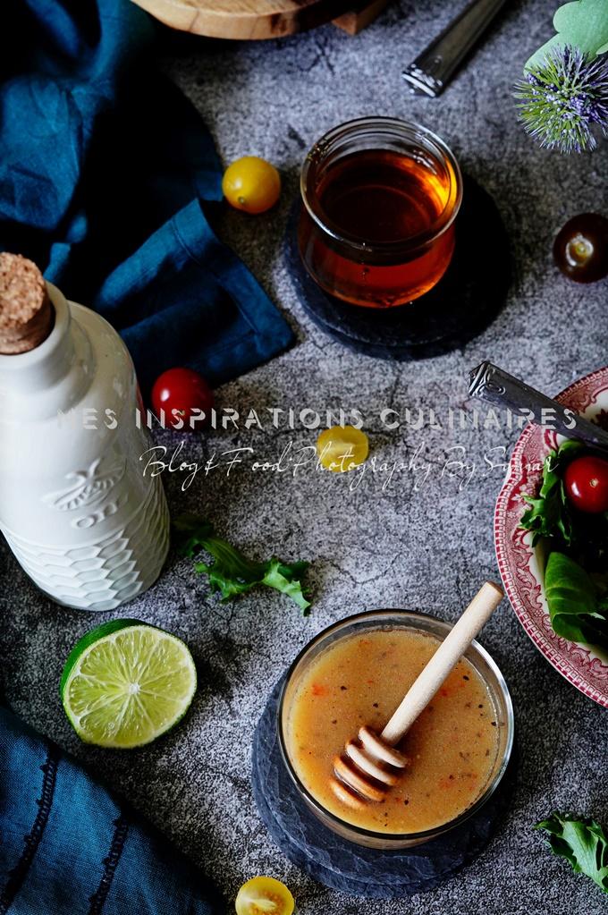 Vinaigrette maison pour salade