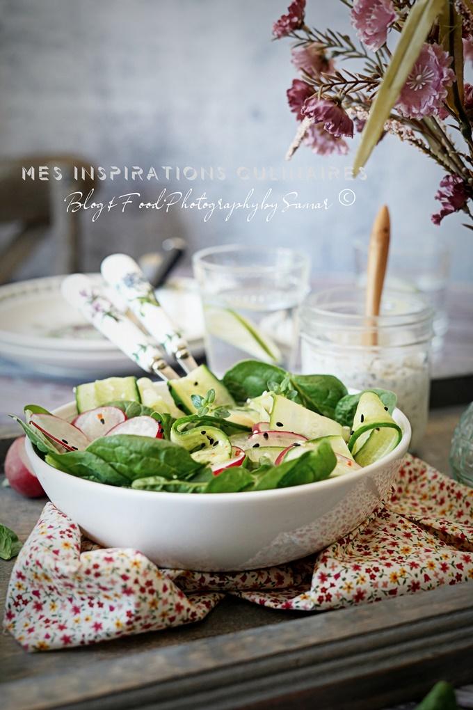 Recette salade de radis