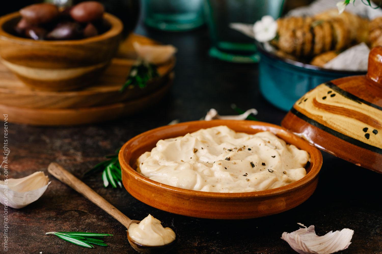 Aïoli facile, sauce provençale