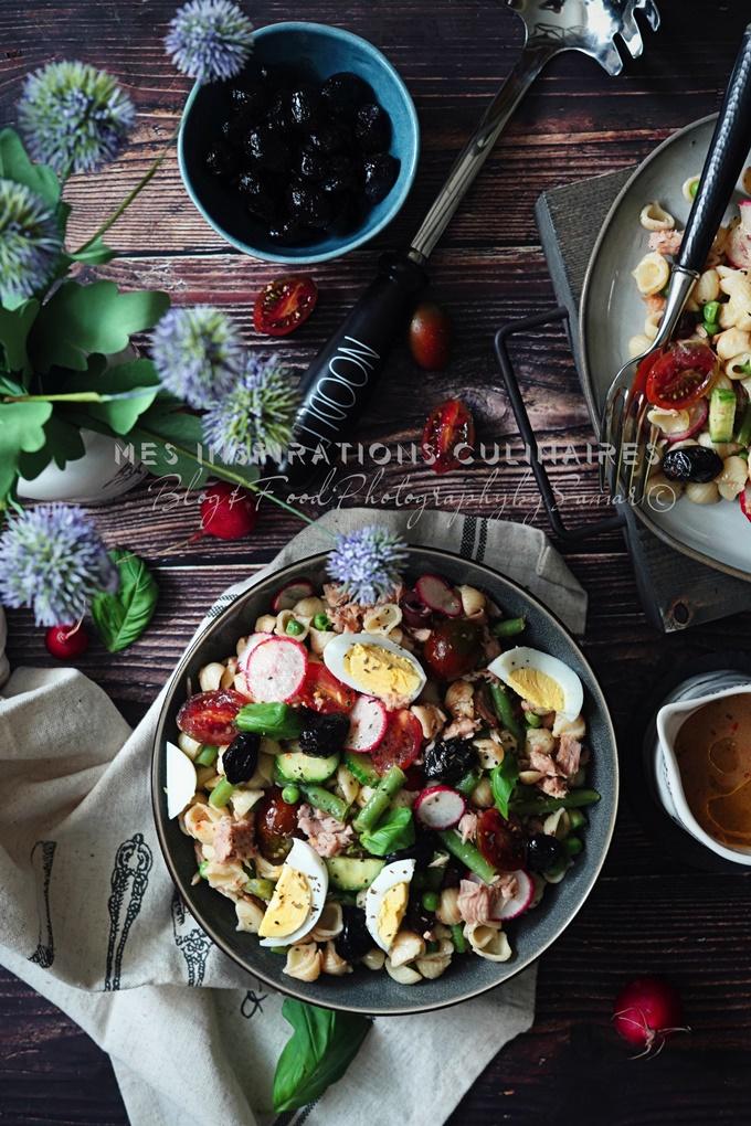 Recette Salade de pâtes façon niçoise