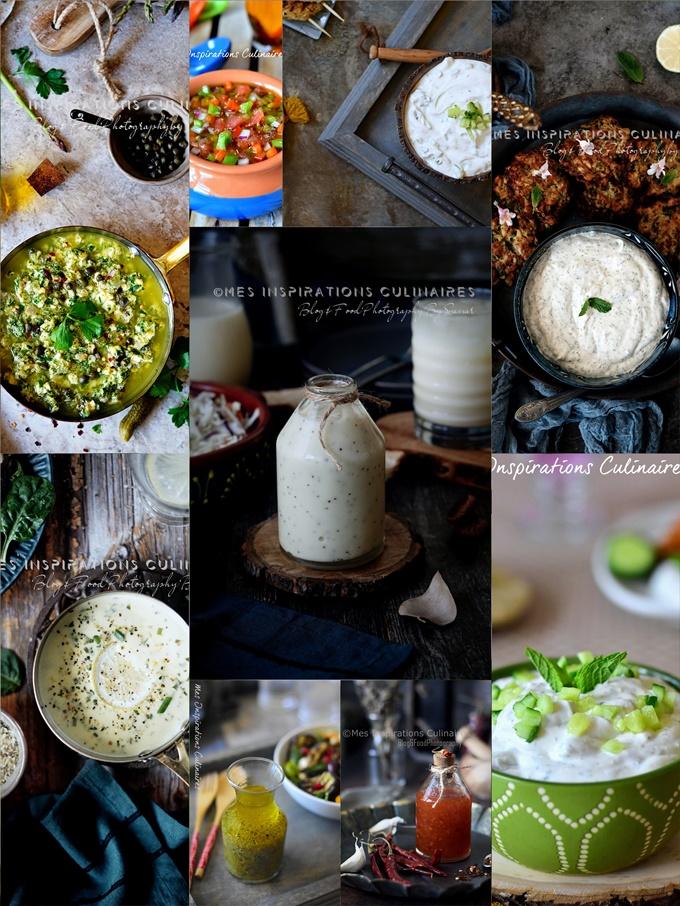 27 sauces pour apéro d'été, salade et grillades