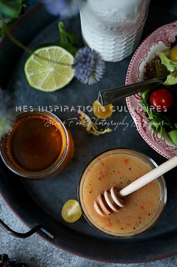 sauce Vinaigrette au citron