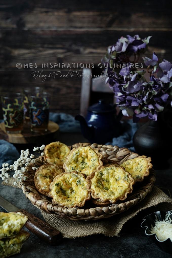 Mini tartelettes au crabe et fromage