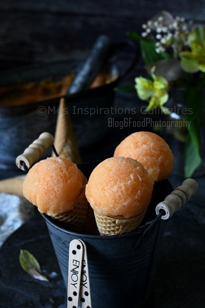 Recette de sorbet au melon facile