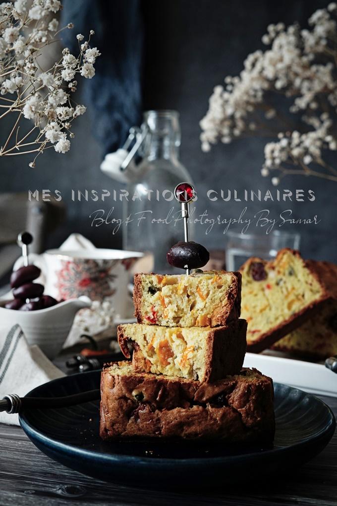 Cake aperitif aux olives