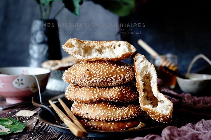 Beignets frits aux Sésames (recette vietnamienne) - Bánh Tiêu