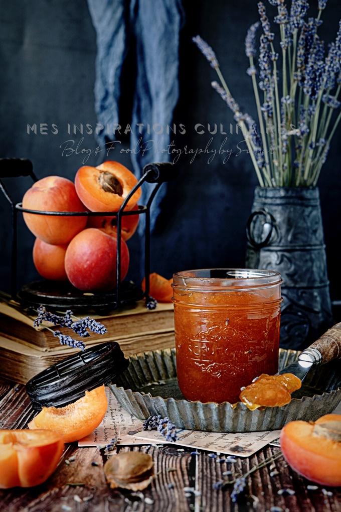 confiture d'abricots maison