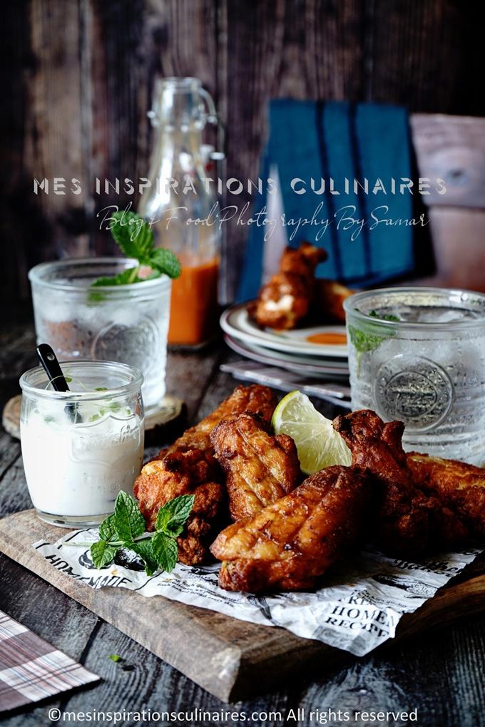 recette ailes de poulet au four tendres et croustillants