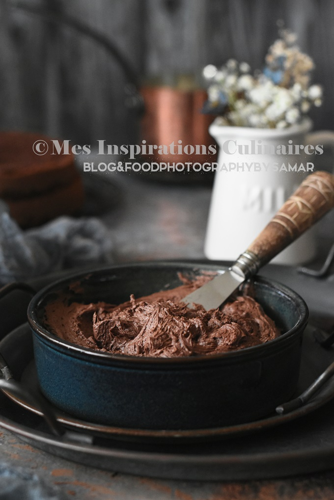 recette de crème au beurre chocolat