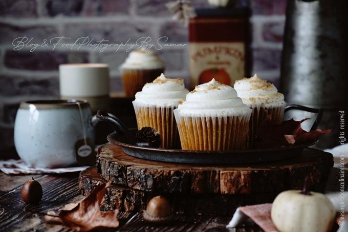 Recette cupcakes au potimarron (pumpkin)