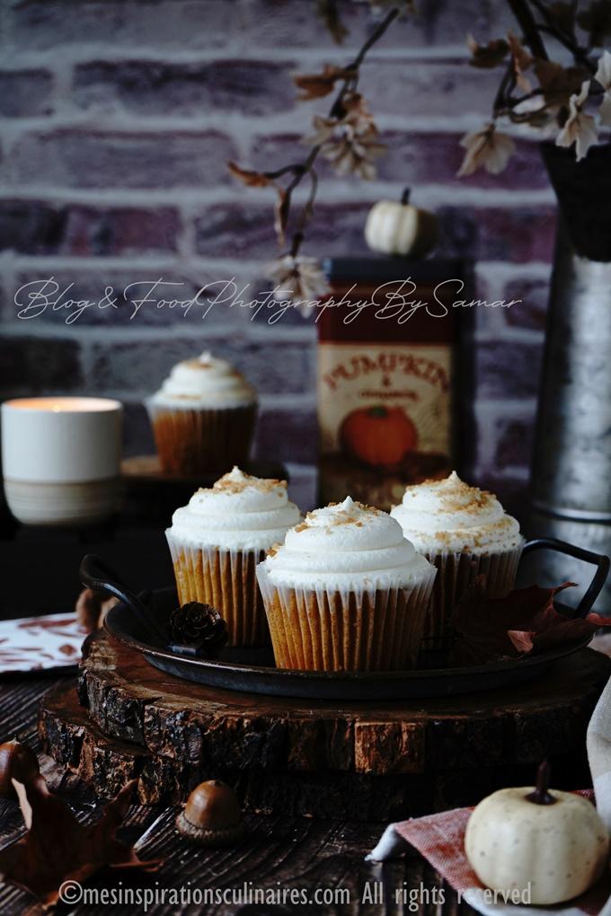 cupcakes potimarron ou cupcakes pumpkin