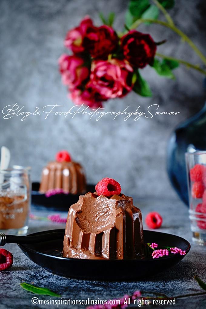 recette de flanby chocolat sans oeuf