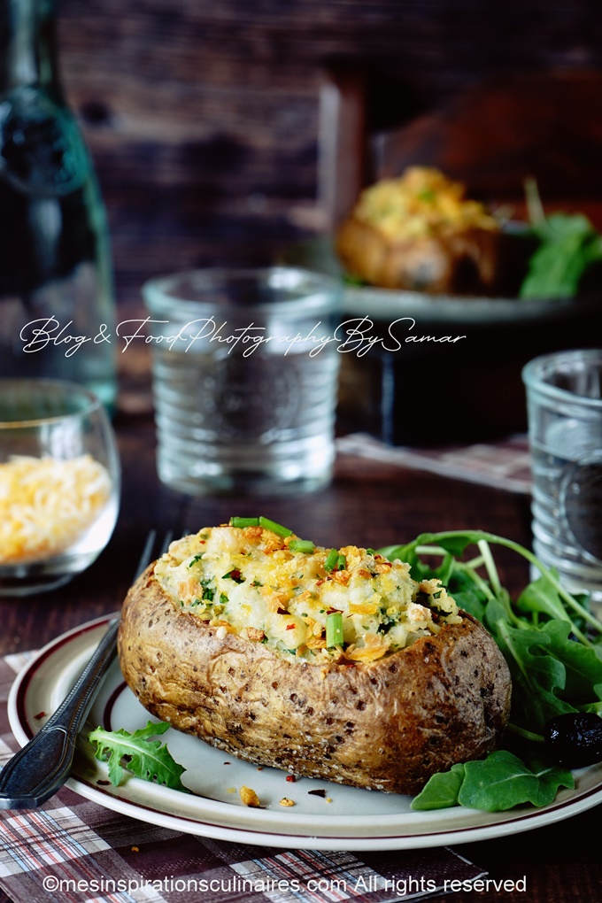 pomme de terre jacket potatoes