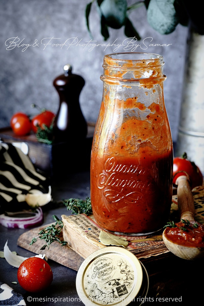 recette de la sauce tomate fait maison