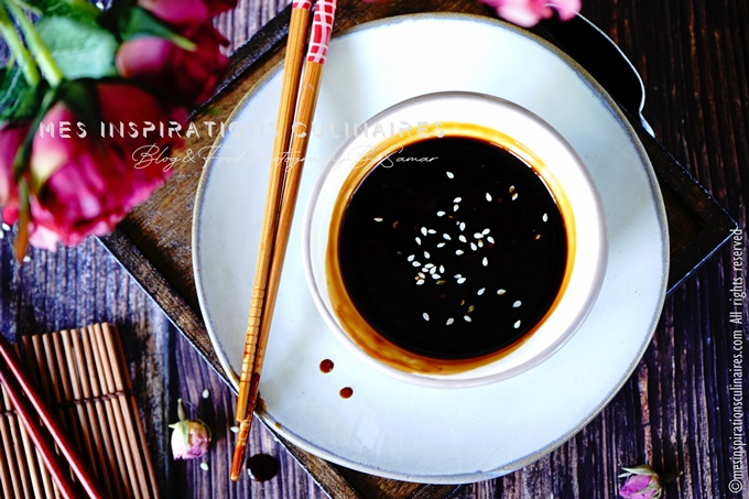 sauce yakitori maison recette sans alcool