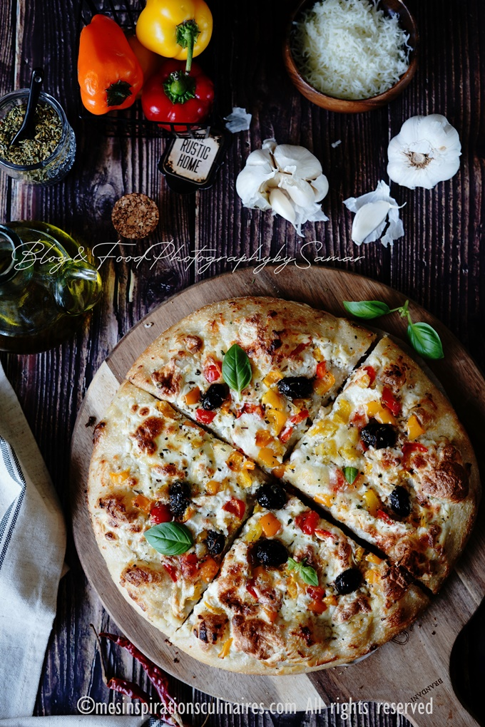 recette pizza blanche
