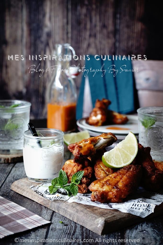 recette de chicken wings au four aux epices barbecue