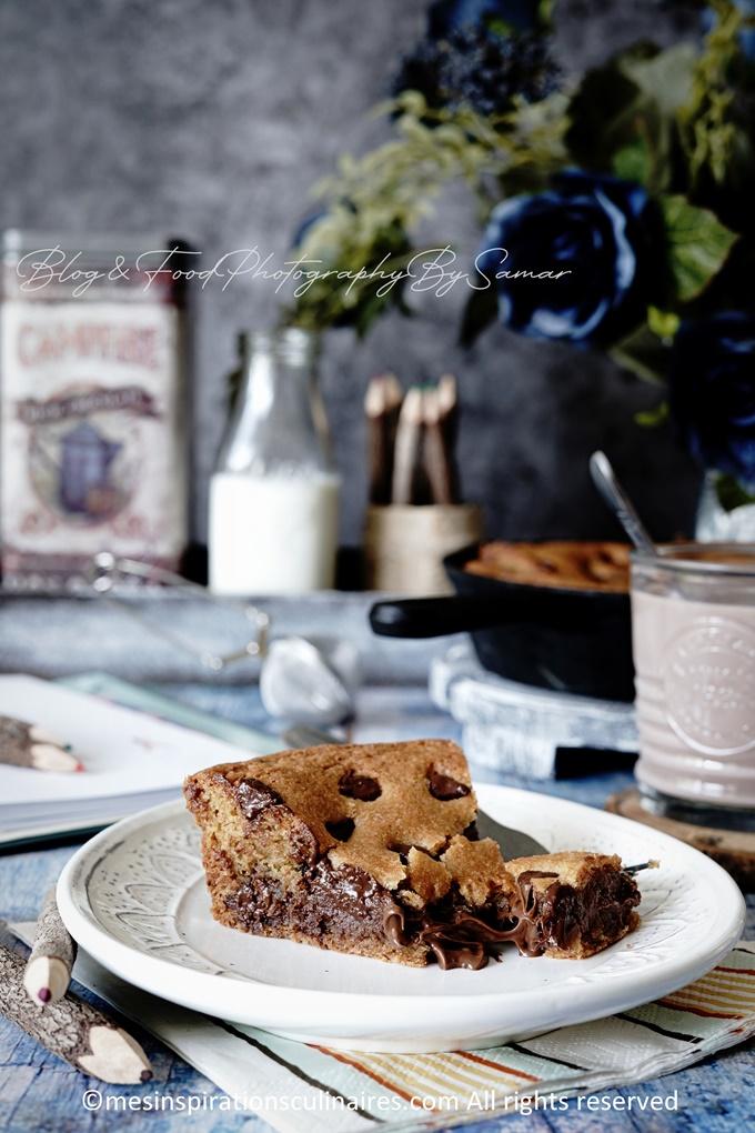 Recette de cookie au nutella