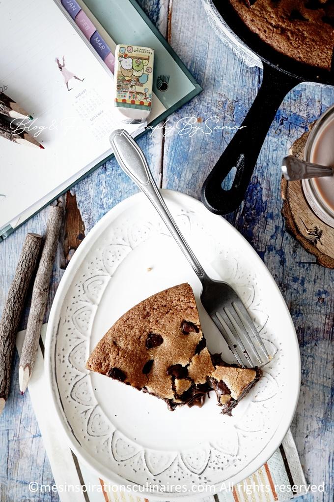 Cookie géant au nutella