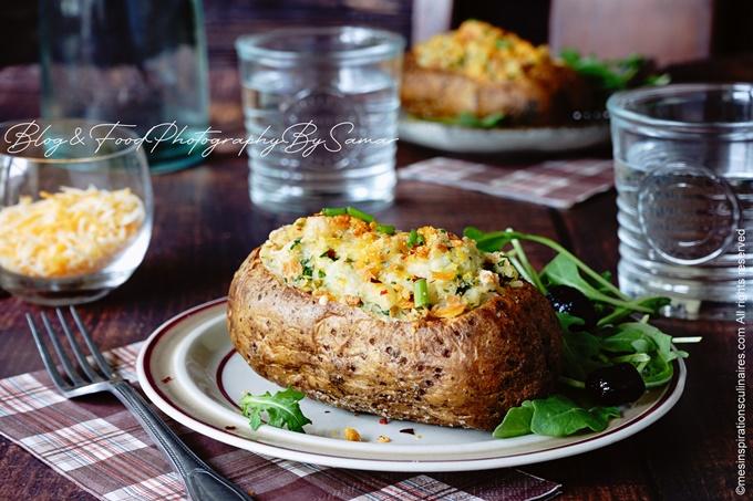 Le jacket potatoe : pomme de terre au four