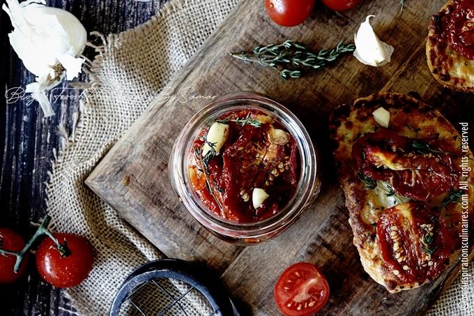 Tomates séchées maison