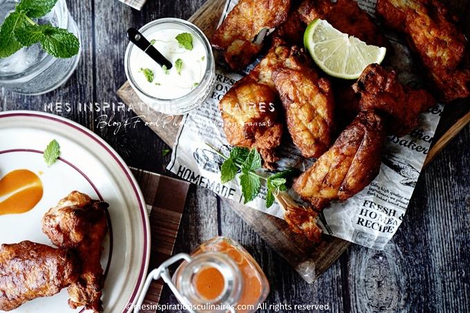 recette ailes de poulet croustillants au four