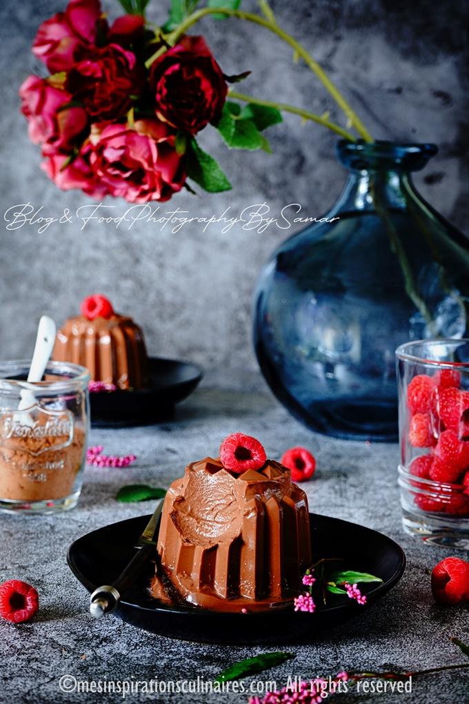 flamby au chocolat maison