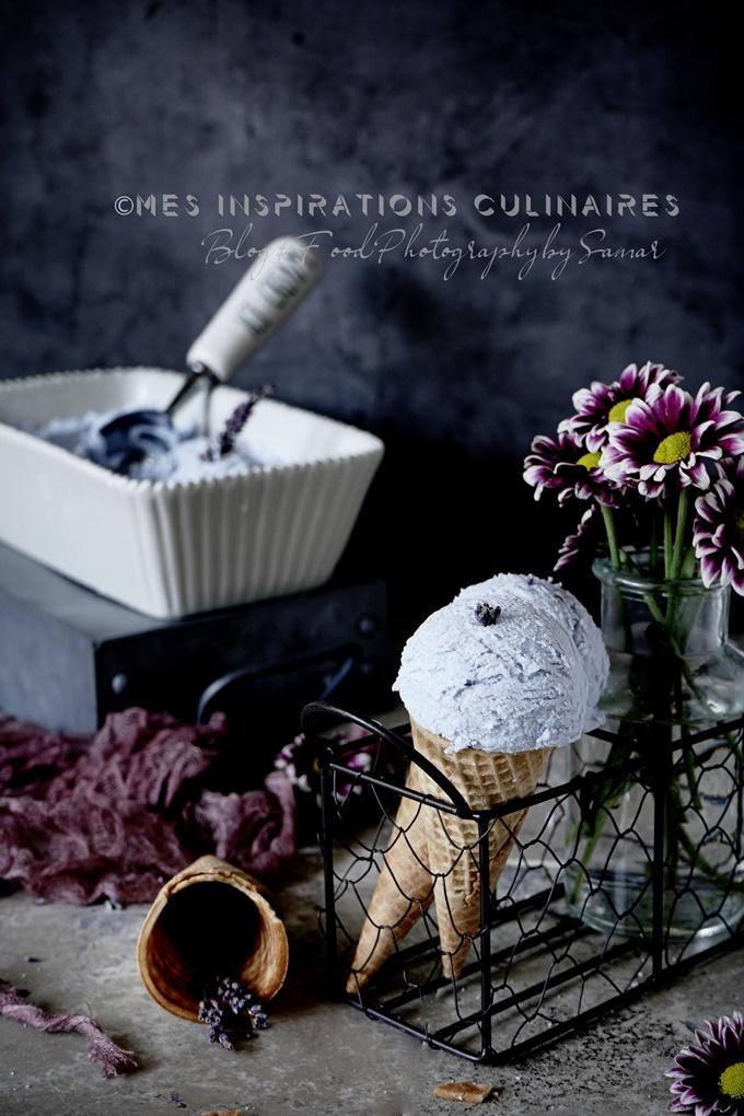 Recette glace maison a la fleur de lavande