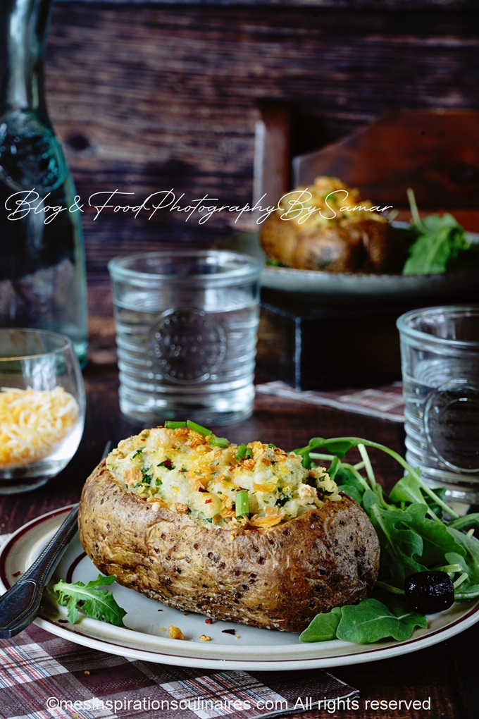 recette de pomme de terre au four facon anglophone